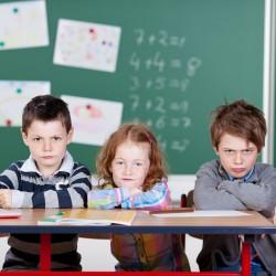Bilde av barn, konsentrasjonsproblemer