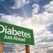 Diabetes skilt