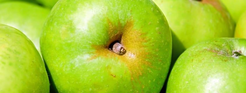 Bilde av eple, hva er det i maten du spiser
